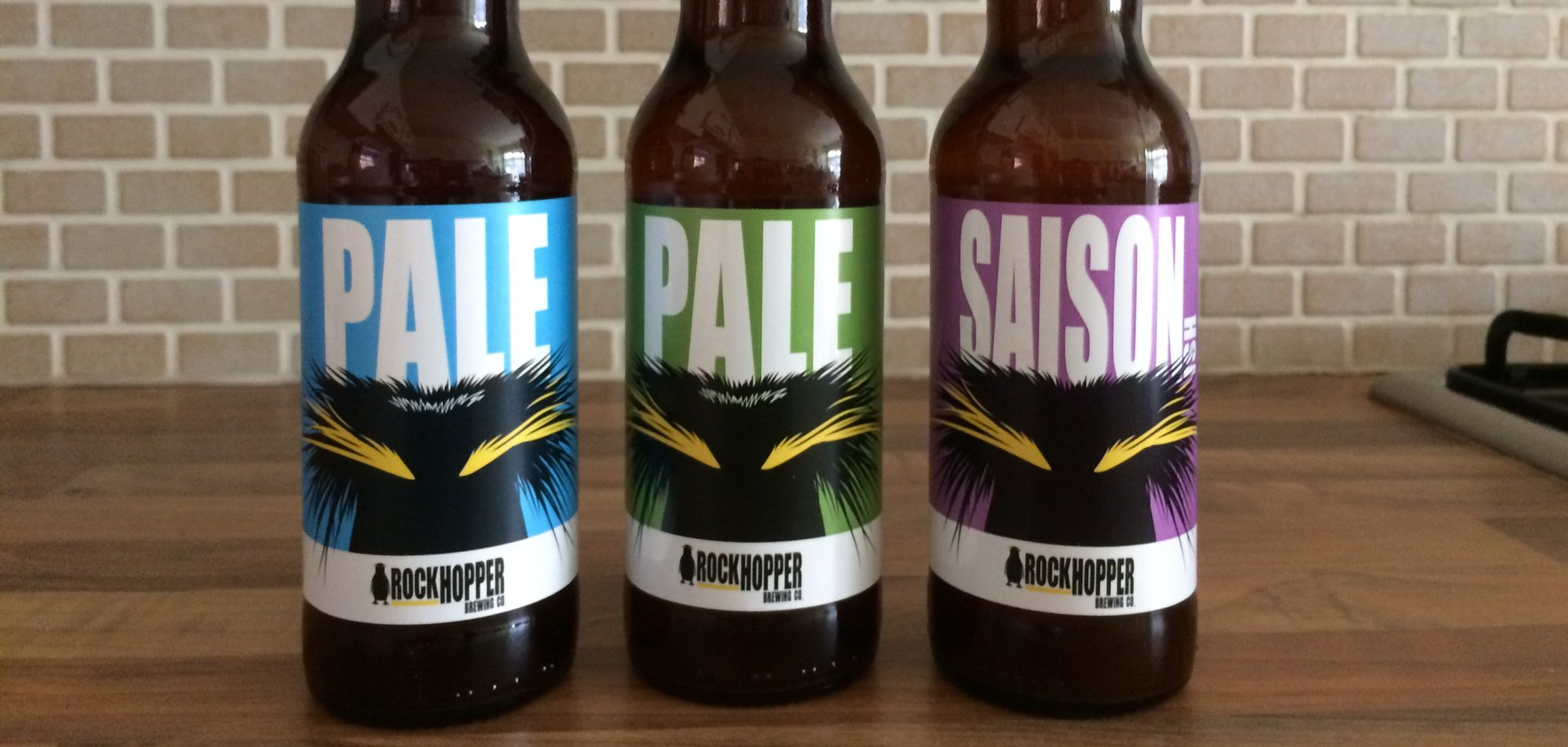 New Beers! Pale|02 and Saison-ish|01